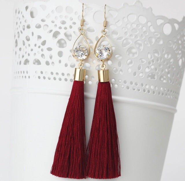 (Gemma) Tassle Earrings