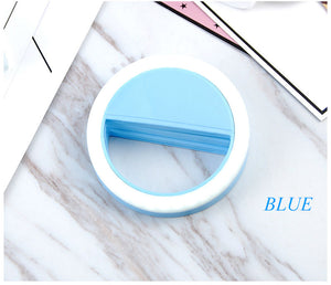 Beauty Phone Ringlight blue