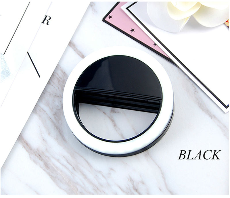 Beauty Phone Ringlight black