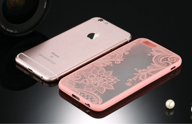 Pink Retro Floral Phone Case