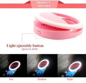 Beauty Phone Ringlight display