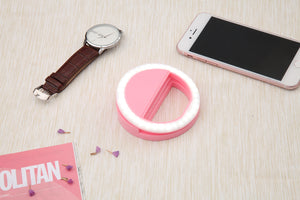 Beauty Phone Ringlight pink