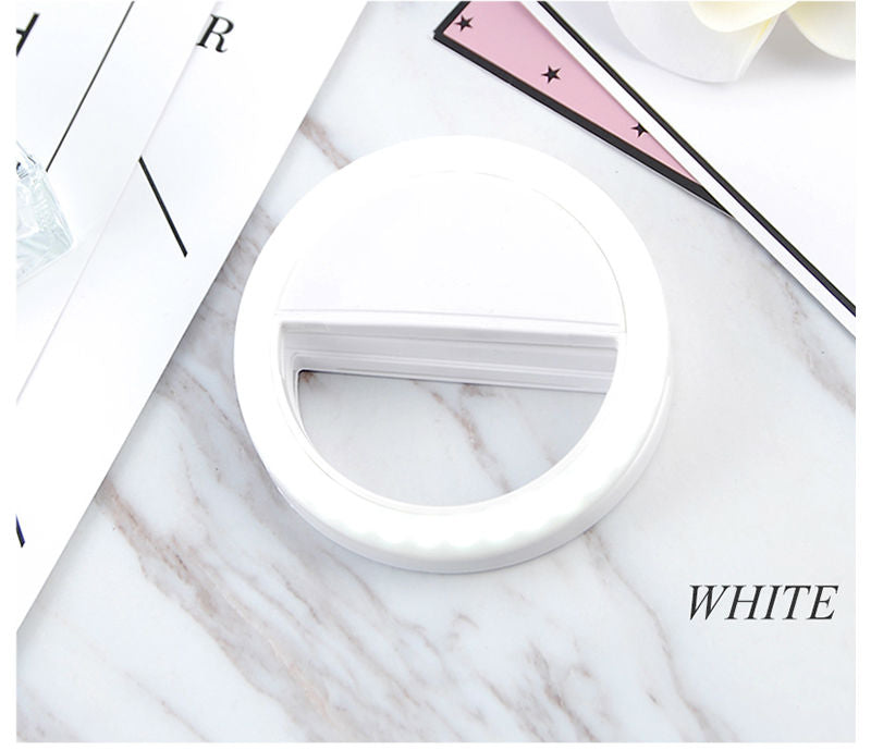 Beauty Phone Ringlight white