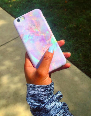 Opal Pastel Rainbow Phone Case