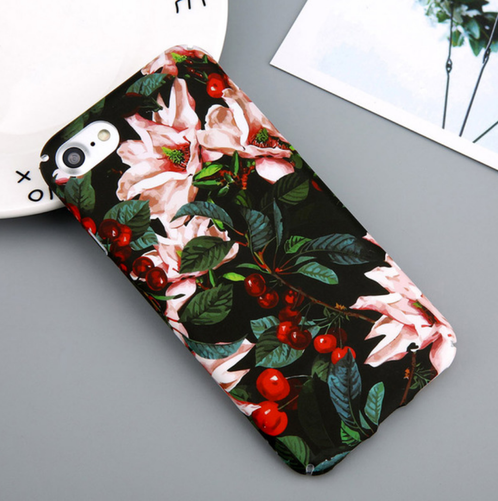 Cherry Flower Phone Case