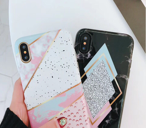 Candy Marble Black Phone Case collection