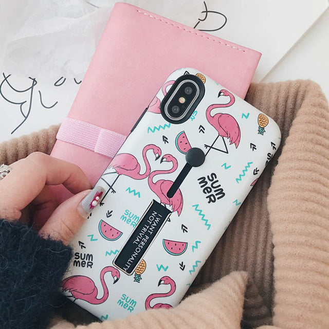 Summer Flamingo Cases for iPhone