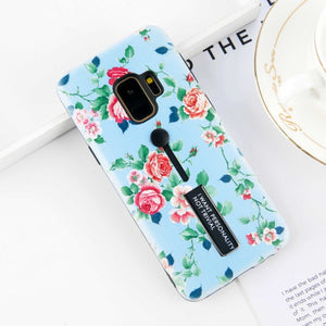 Flower Samsung Galaxy Cases with Holder included