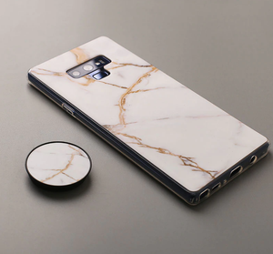 Samsung Marble Style Case with Phone Holder