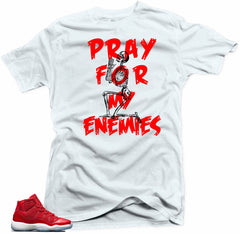 Jordan 11 Win like 96-MY ENEMIES White Tee