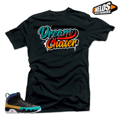 Jordan 9 Dream it Do it Sneaker Match-Dream Chaser Black Tee