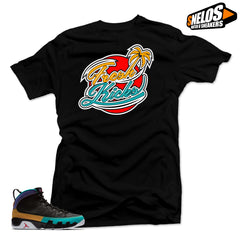 Jordan 9 Dream it Do it Sneaker Match-Fresh Kicks Black Tee