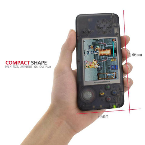 Retro Pebble Handheld Game Console