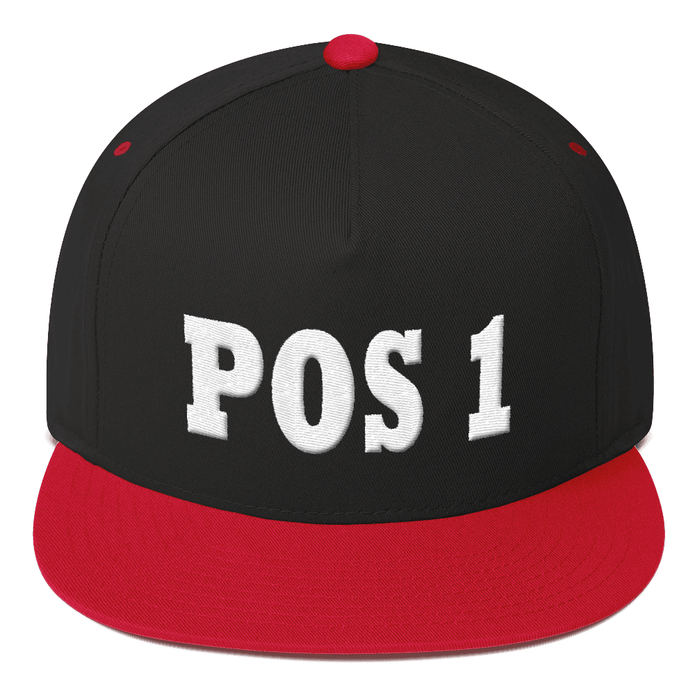 Position One Moba Flat Bill Cap