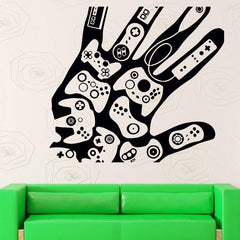 Gamer Imprint Wall Decal