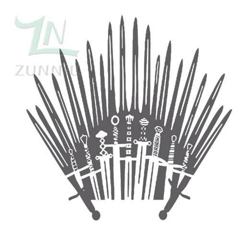 Throne of Swords Wall Decal