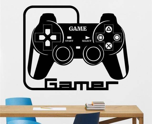 Game Controller Wall Decal