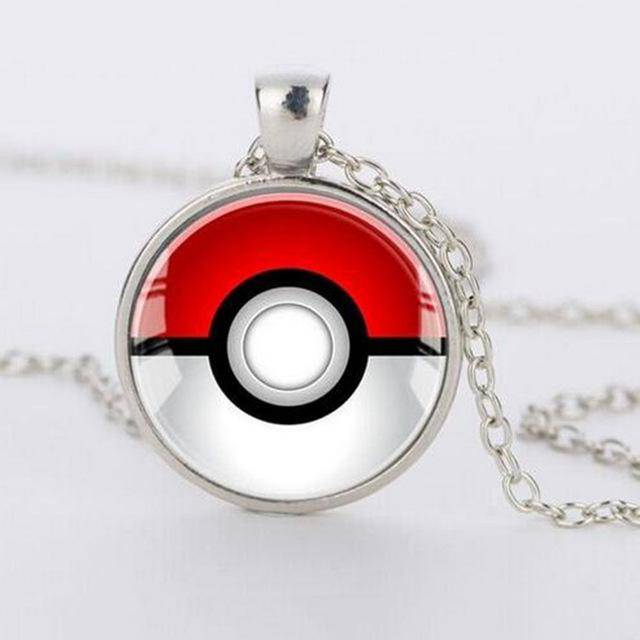 Red & White Poke-Pendant