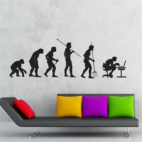 Gamer Evolution Wall Decal