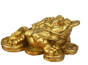 Copper Lucky Toad