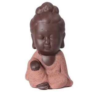 Figurines - Child Buddha Monk Figurine