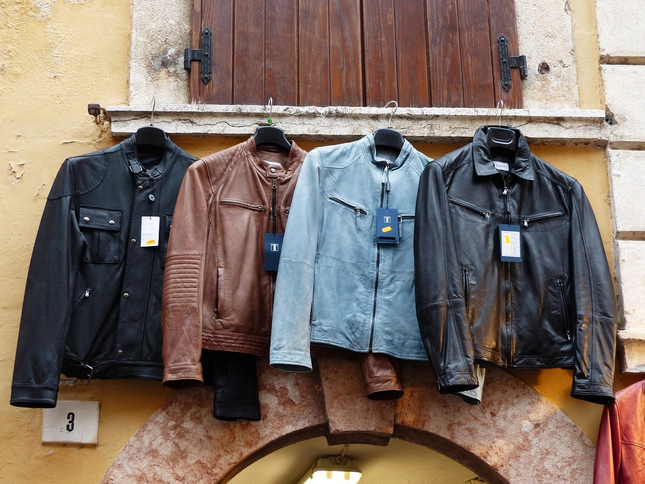 different kinds of mens jackets