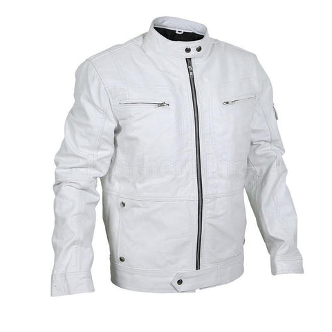 Mens-White-Racer-Genuine-Leather-Jacket