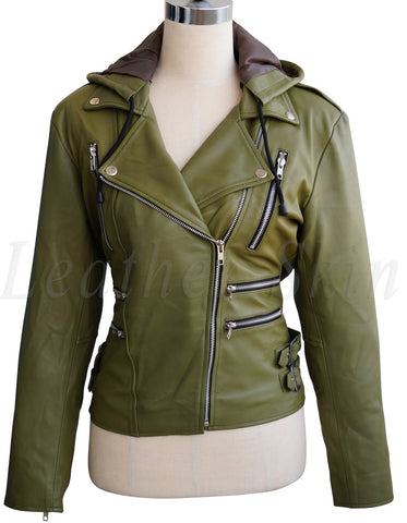 women-olive-green-jacket