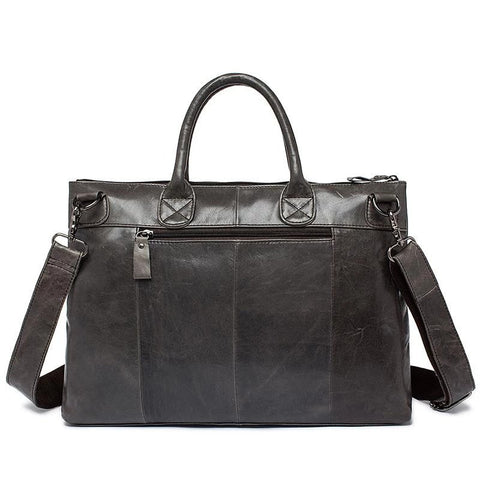 Tote Genuine Leather Business Shoulder Bag