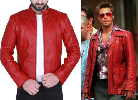 red leather jacket styles