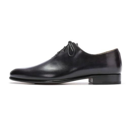 7c9bee85290 Men Black Formal Handmade Genuine Leather Shoes with laces – Leather ...