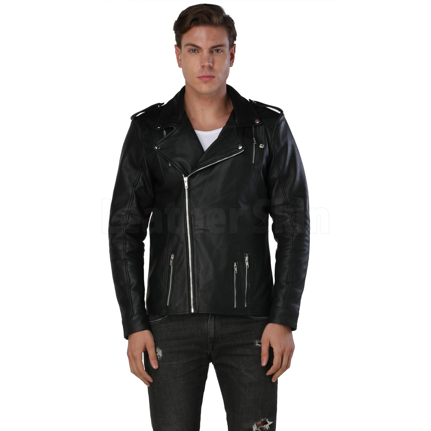 Decent Black Leather Jacket