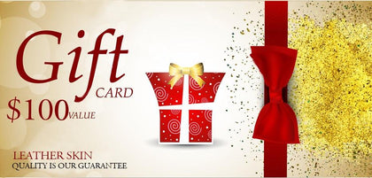 Gift Card by Leather Skin for any Occasion