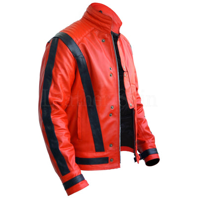 Michael Jackson Jacket with Black Stripes