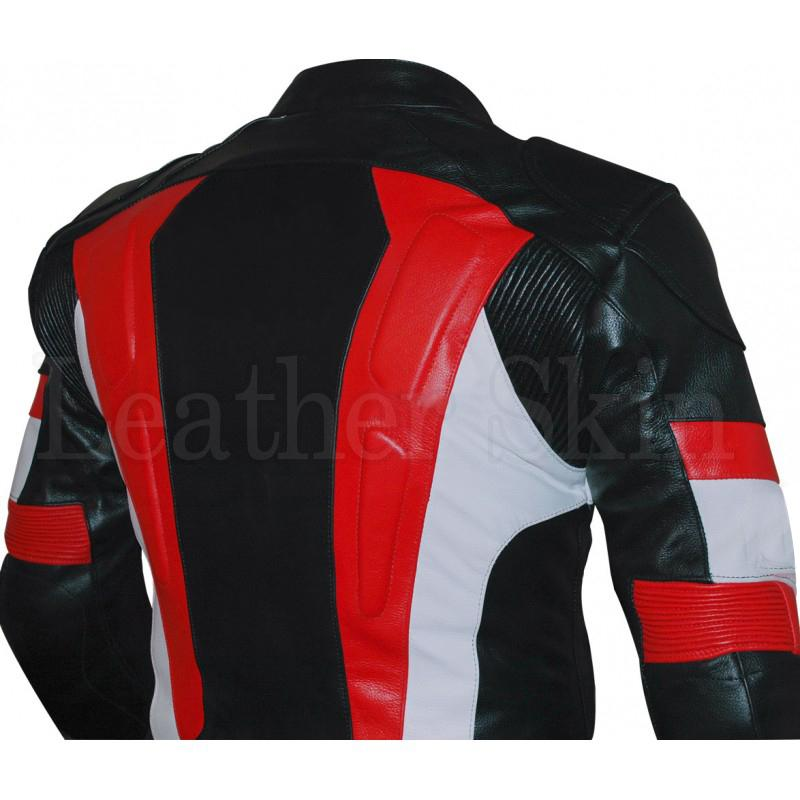 Real Leather Jacket for Motorcycle