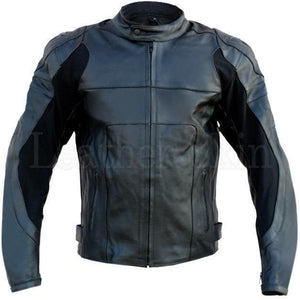 Leather Skin Black Motorcycle Biker Racing Premium Genuine Leather Jacket