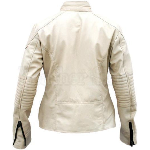 Women Off-White Real Leather Jacket