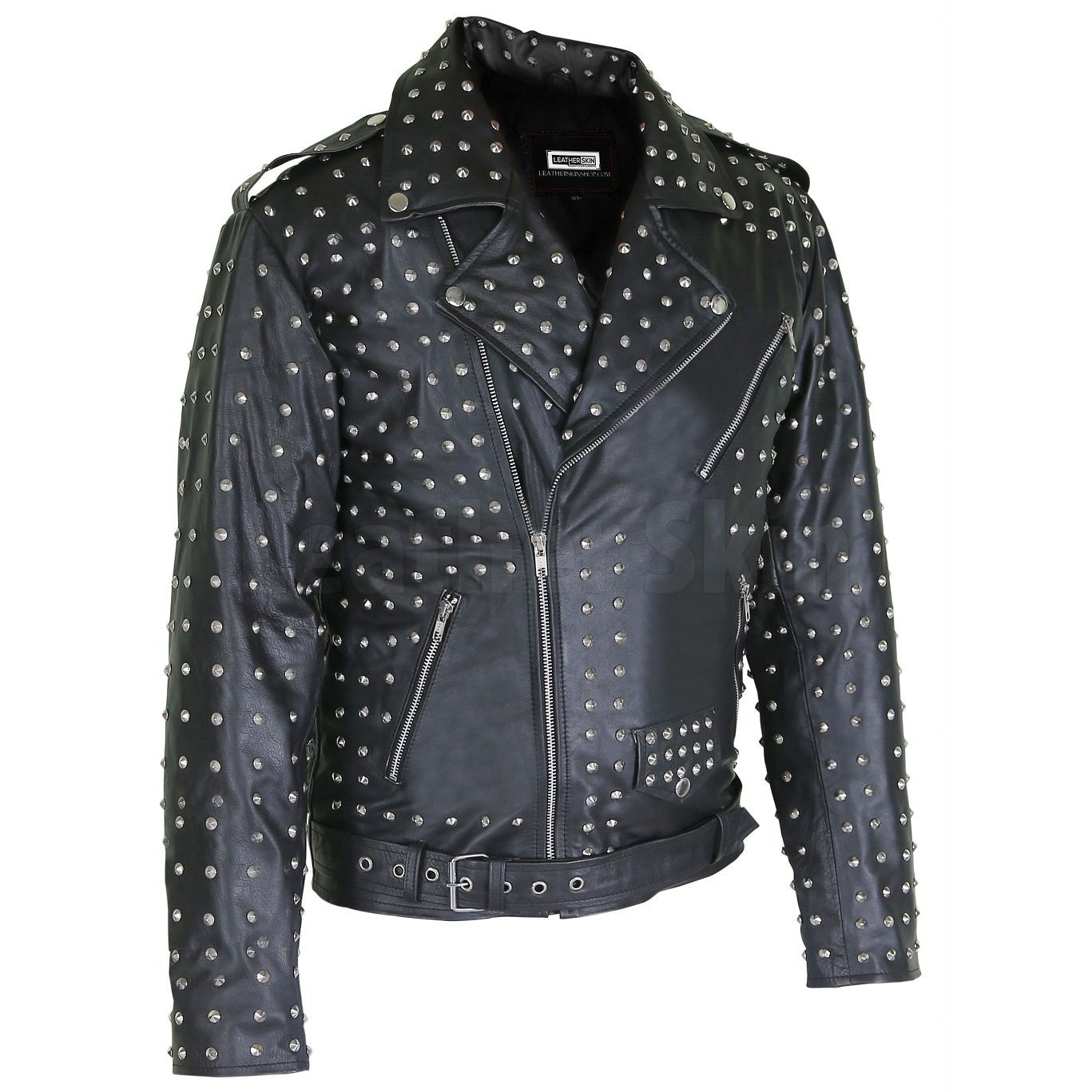 Marlon Black Brando Genuine Leather Jacket