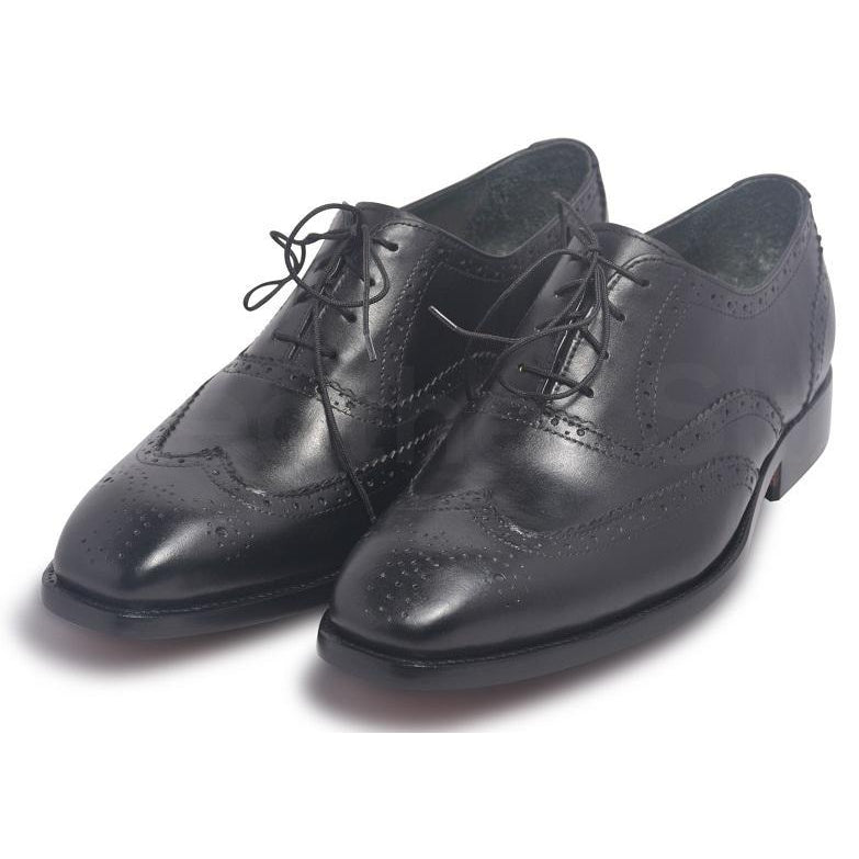 brogue leather shoes for men