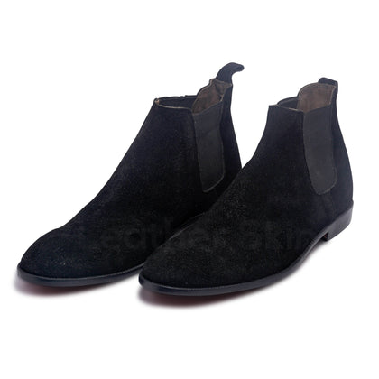 mens chelsea boots in black