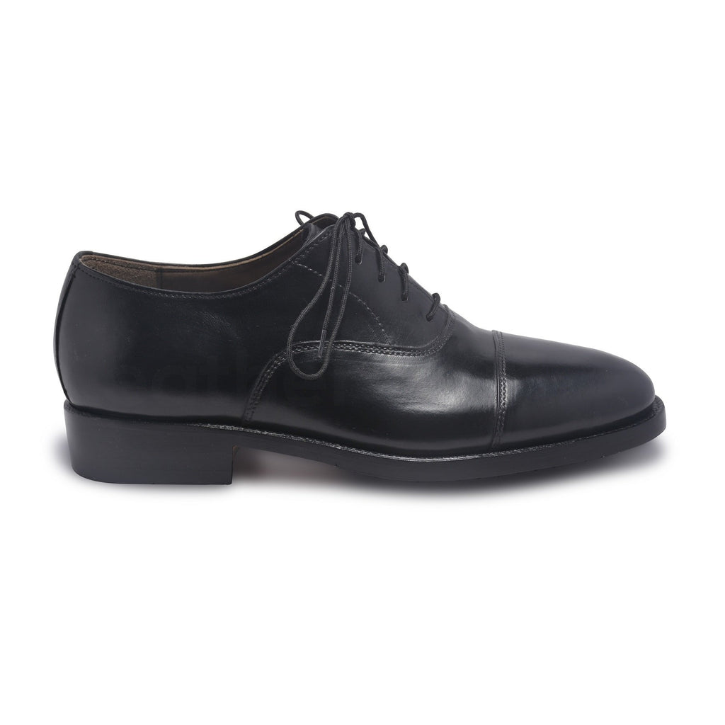 oxford shoes in black color mens