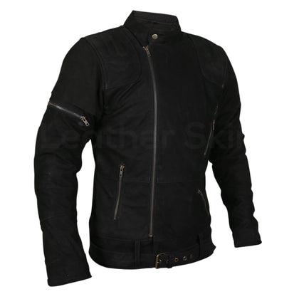 mens suede leather jacket