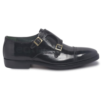 monk leather shoes for men