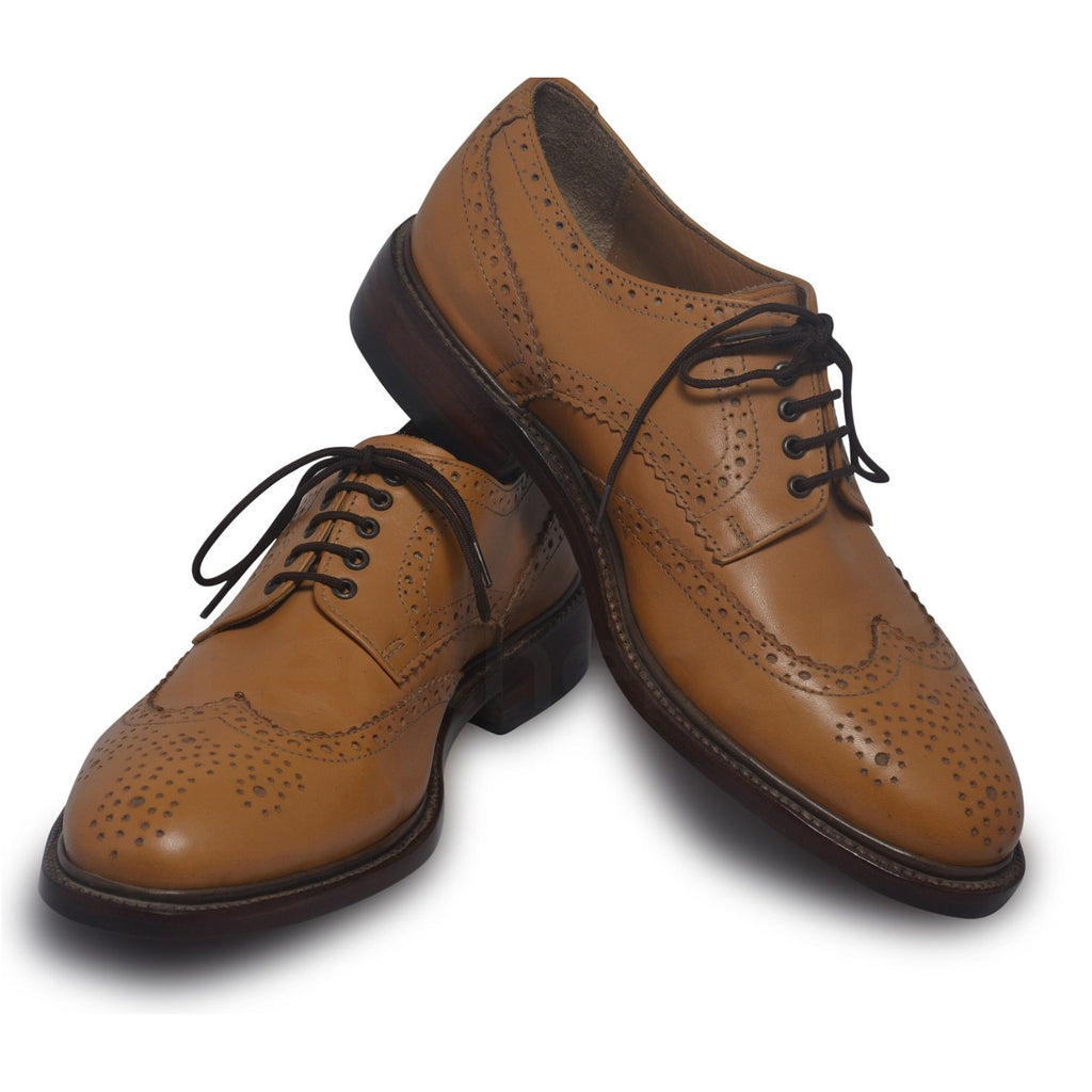 mens leather shoes in tan color