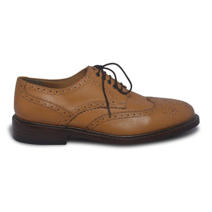 mens bold shoes tan color