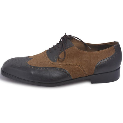 wingtip leather shoes for Men