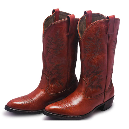 mens brown cowboy boots