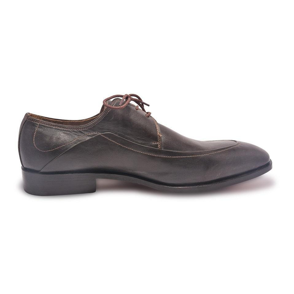 Leather Shoes in Chocolate Brown Color
