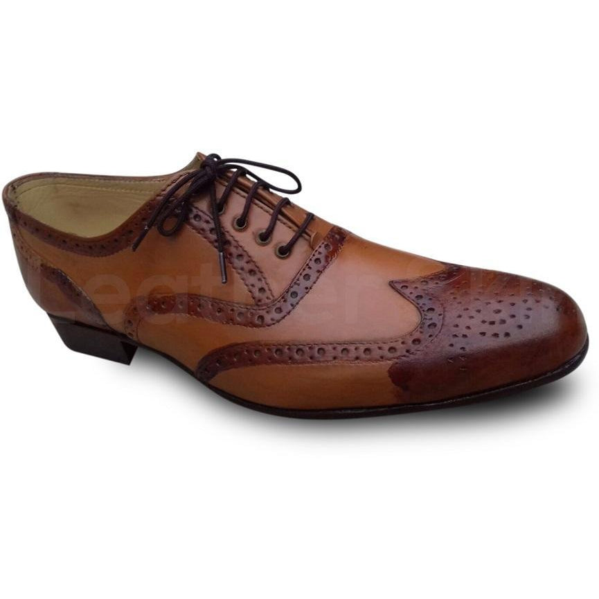 oxford brown leather shoes
