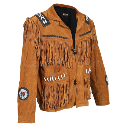 cowboy leather jacket mens